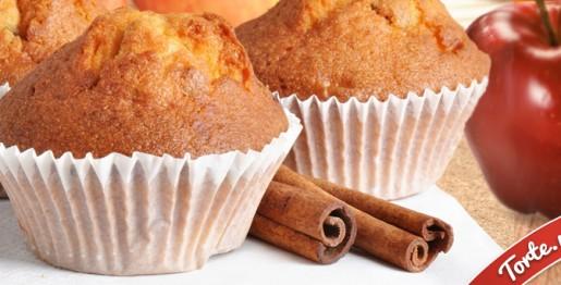 Cupcake-mela-e-cannella