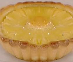 crostata ananas e cocco