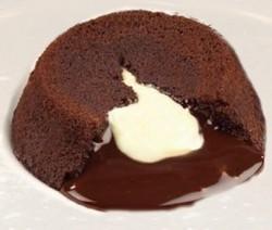 Cuore morbido al cioccolato bianco