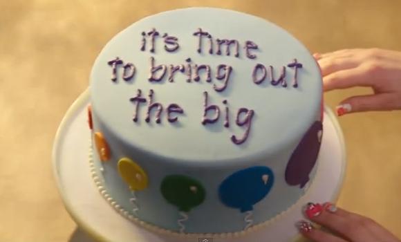 Torta di compleanno decorata: Palloncini