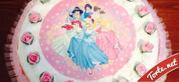 torte di principesse torta principesse : Ricetta Torta di compleanno principesse Disney Torte.net