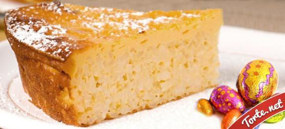 torta pasquale al riso
