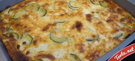 tortino di zucchine ricotta